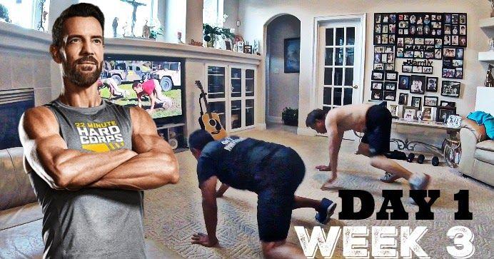 Day 1, Week Three - 22 Minute Hard Corps Challenge   Arnel Banawa