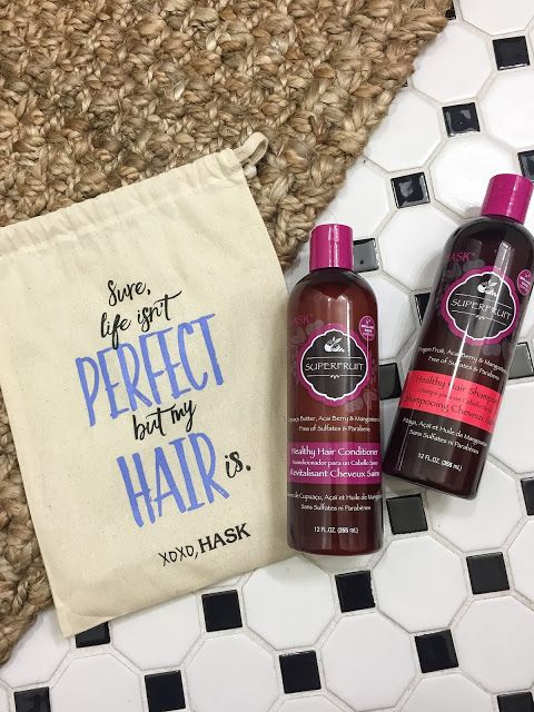 Fashion by Day: Healthy Hair with Hask.