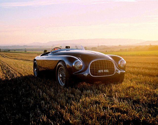 The 1951 Enzo Ferrari 212 Touring Barchetta.