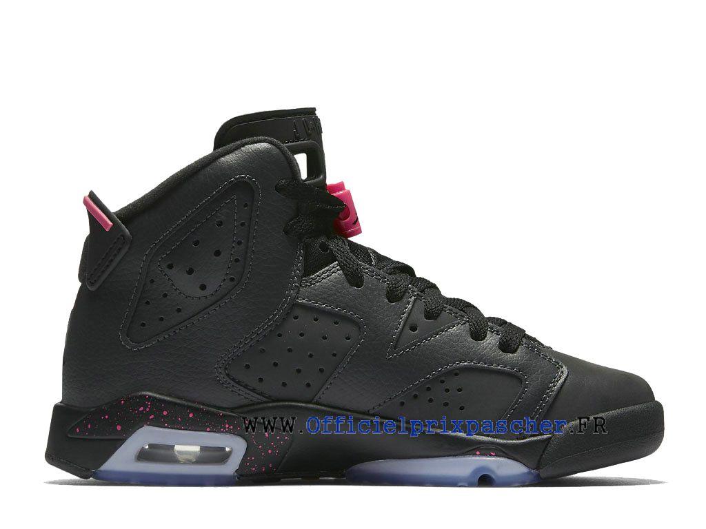 Air Jordan 6 Retro GS Chaussures Air Jordan Basketball de qualité Prix Pour  Femme Hyper Pink fea59fe0183b