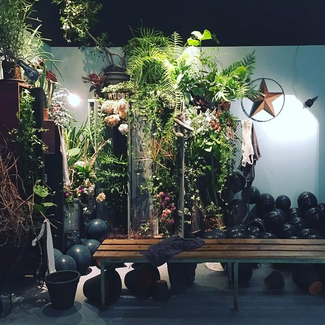 """""""GREEN FINGERS SATOSHI KAWAMOTO EXHIBITION 『HERE AND THERE"""
