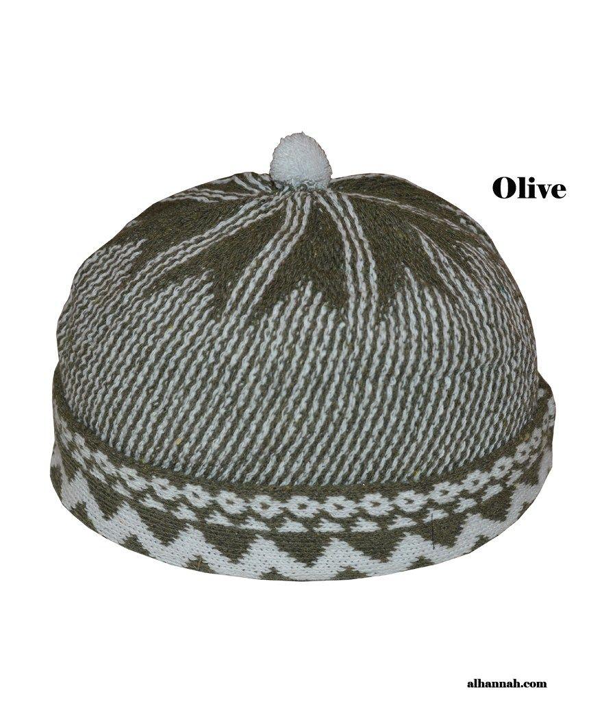 c8275fa188f9 Muslim Wool-blend Knit Cap me422 in 2019 | Kufi | Taqiyah | Muslim ...