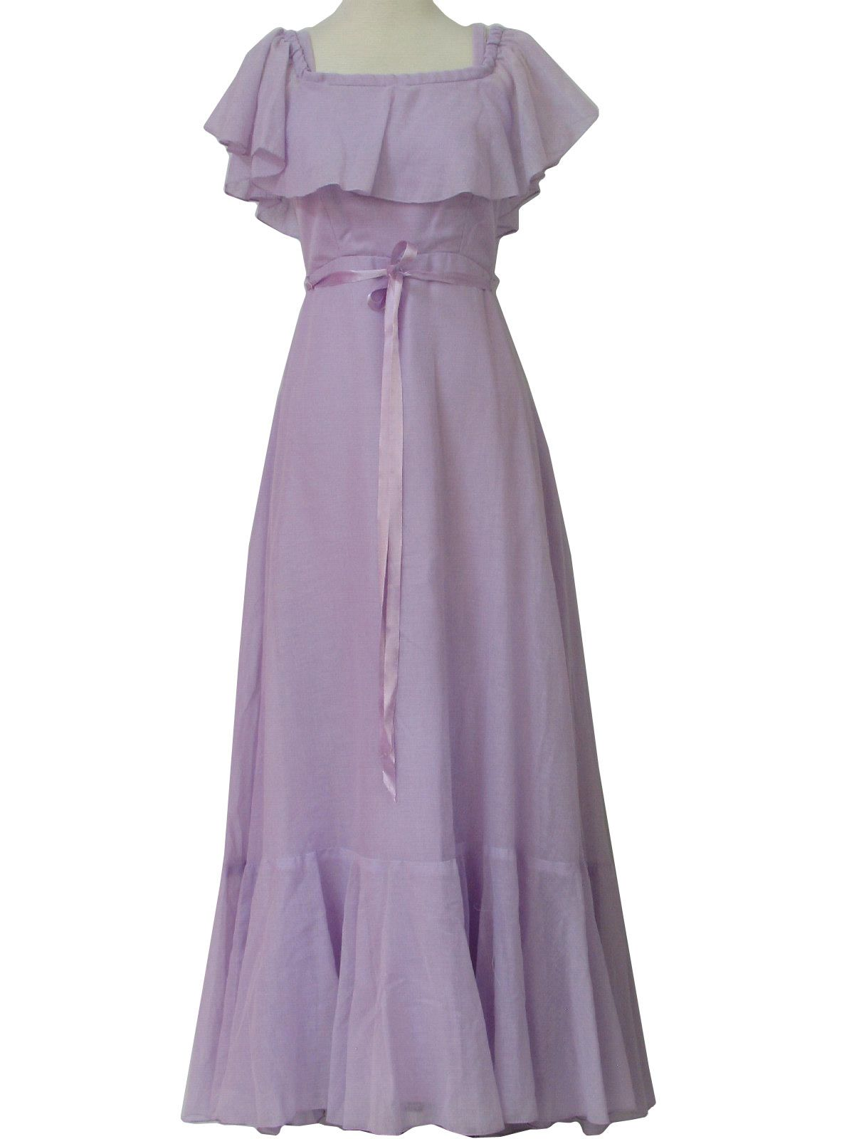 1970's JC Penney Womens/Girls Prom/Cocktail Maxi Dress