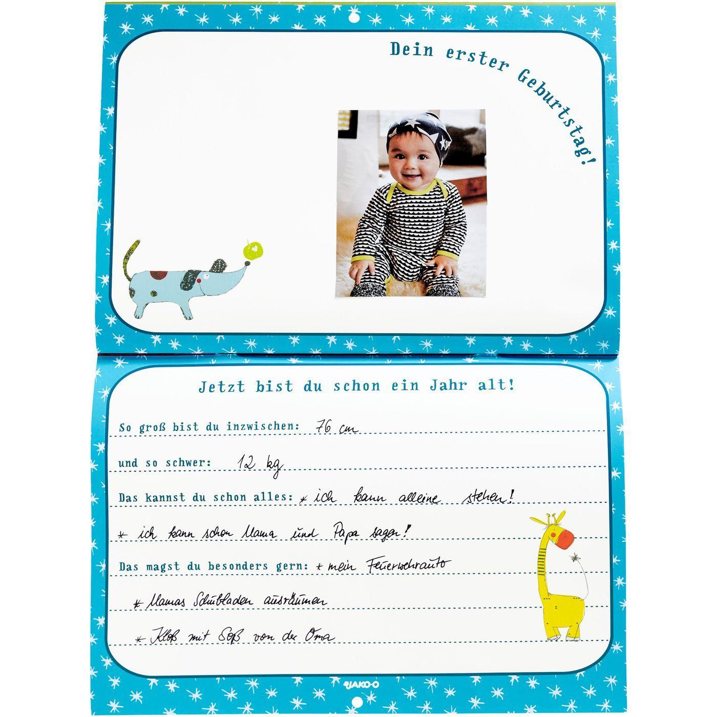 Baby Tagebuch Online Bestellen Jako O Babywelt Baby