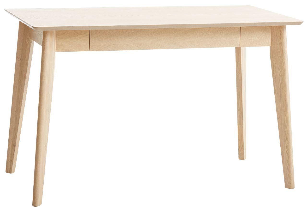 Licht Eiken Side Table.Bureau Kalby 60x120 Licht Eiken Nieuw Huis Light Oak