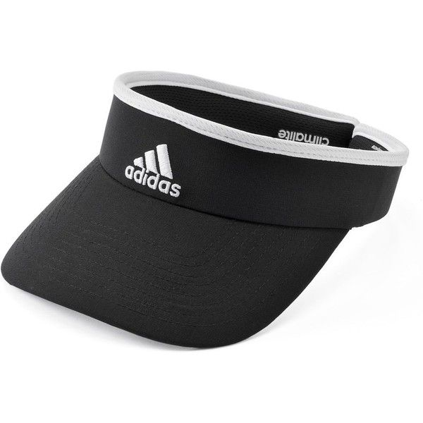 96567fcf938 Women s Adidas climalite Visor ( 15) ❤ liked on Polyvore featuring  accessories