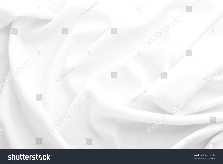 White Fabric Texture Background Wavy Fabric Sponsored