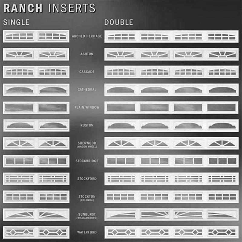 Garage Door Window Inserts Replacements | Blue Line Door Co.   Panels/  Windows