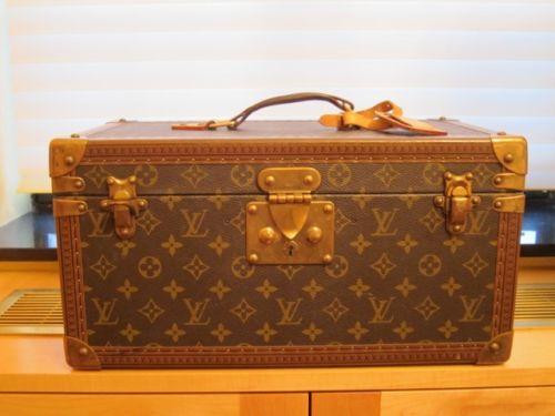 Vintage Louis Vuitton Make-Up Train Case - Beauty Trunk