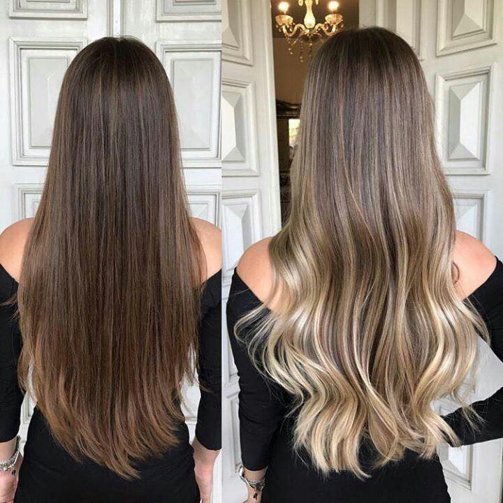 Hair Style Sac Rengi Fikirleri Golgeli Sac
