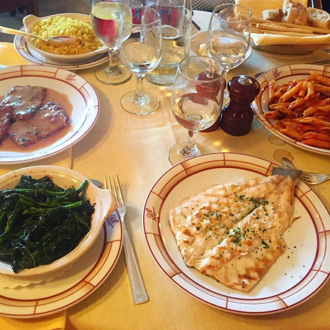 One of my favourite places in NY @cipriani #lunch #italianfood #branzino #mediterranean #nyc #moalmada