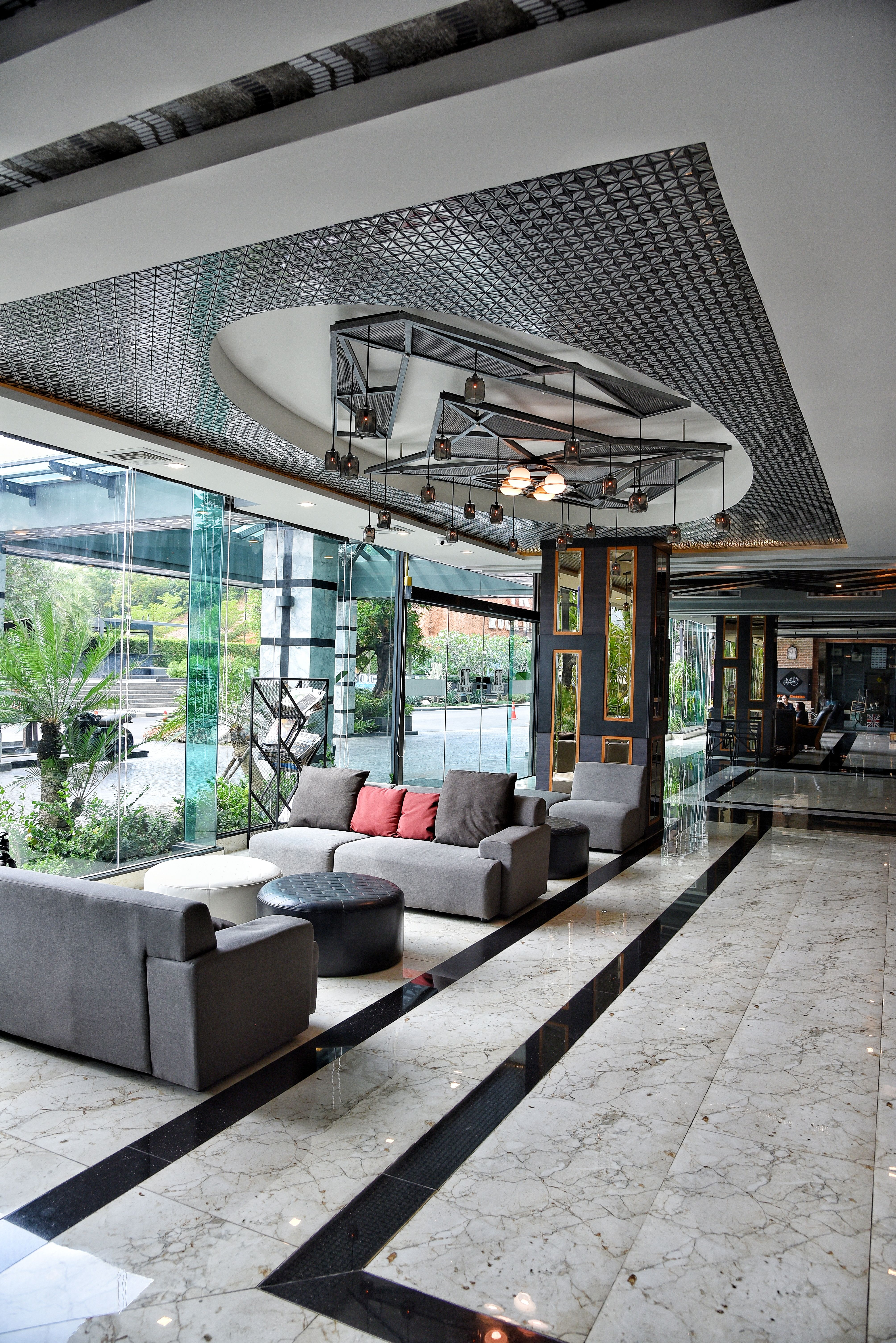 Project Tr Rock Hill Hotel Material Glass Tiles Glass