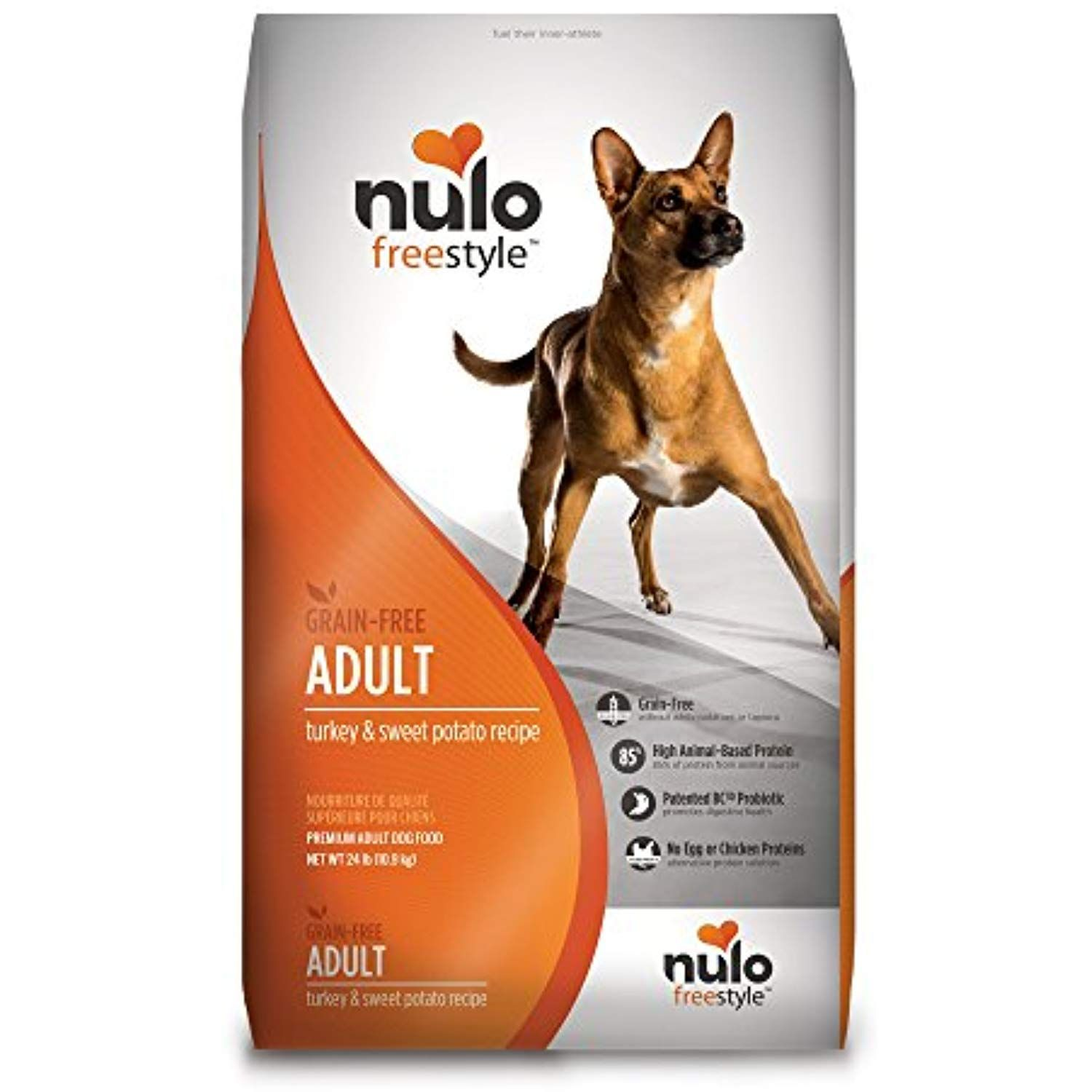 Nulo Grain Free Dog Food All Natural Adult Dry Pet Food For Large