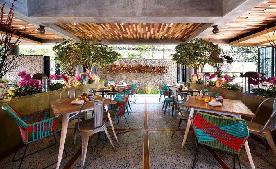 Restaurant design paradisiaque au cœur de l\'Indonésie - Lemongrass ...