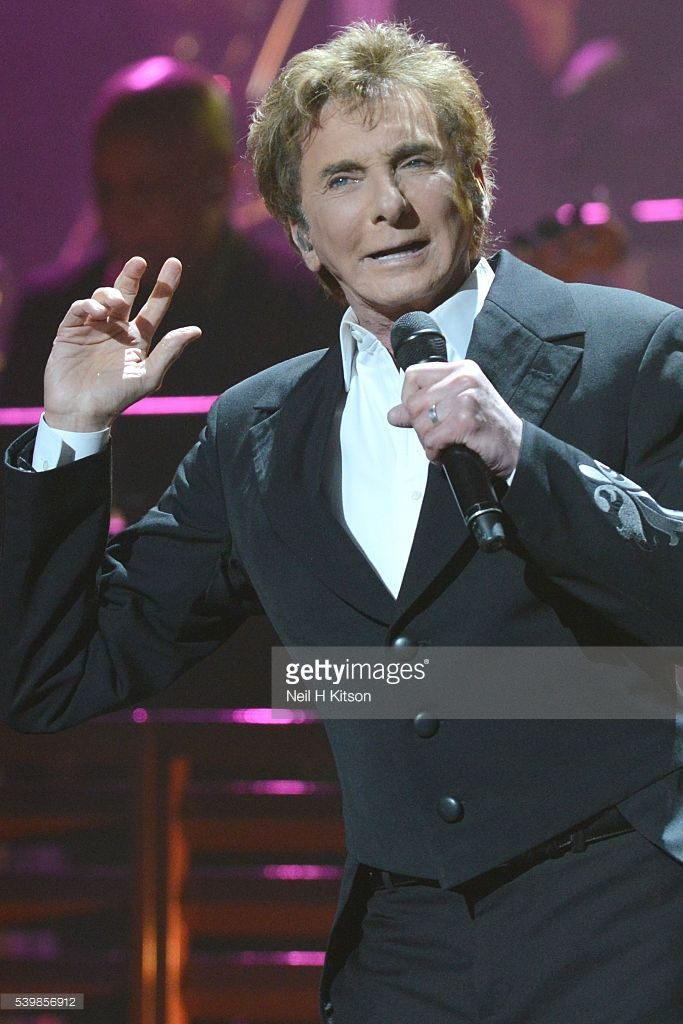 Barry Manilow Performs At First Direct Arena In Leeds Barry
