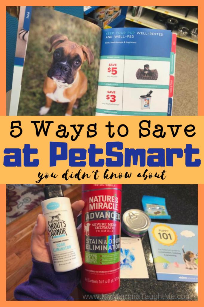 5 Ways To Save At Petsmart Petsmart Ways To Save Apartment Pet