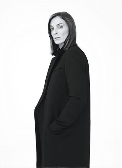 364a7975a932 Celine Black Wool Crombie Long Coat Jacket New Phoebe Philo BNWT UK 16 FR  44  Celine  OtherCoats