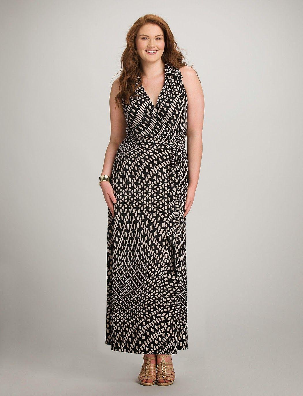 Vestidos largos para mujeres de talla grande