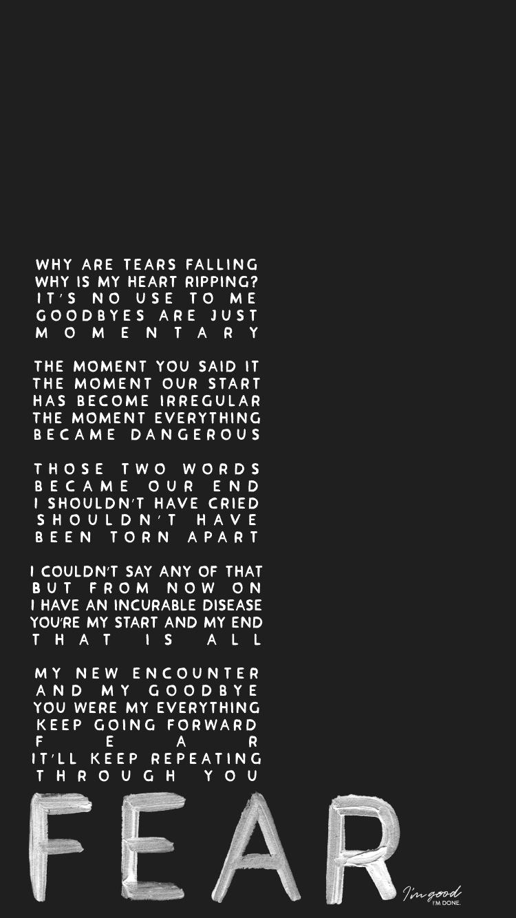 BTS Outro Tear J Hope Lyric Wallpaper Lockscreen Phone IPhone