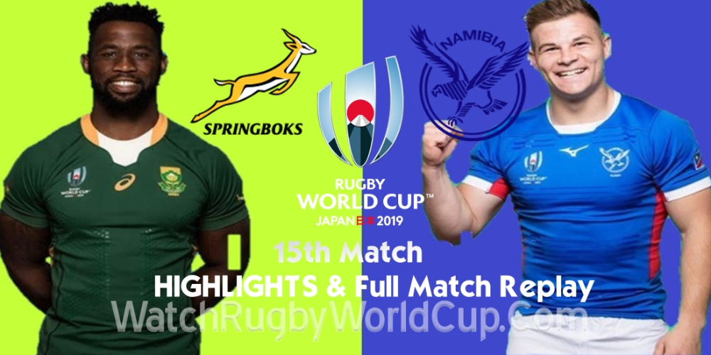 Rugby World Cup 2019 Highlights Videos Rugby Full Match Replay Full Match Rugby World Cup World Cup