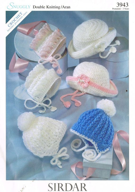SNUGGLY Shell Stitch Baby Papoose /& Hat //Crochet Pattern INSTRUCTIONS ONLY
