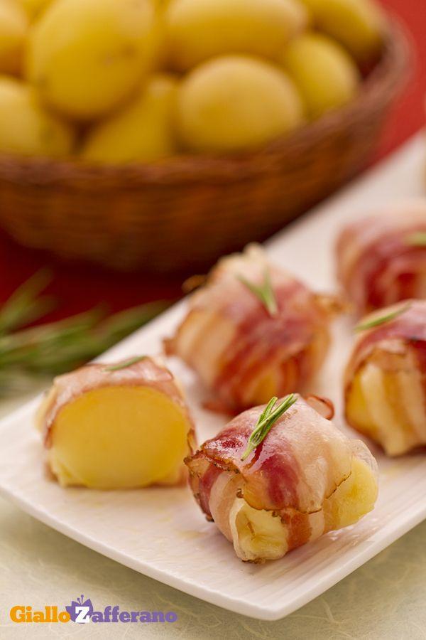 Bocconcini di patate e pancetta