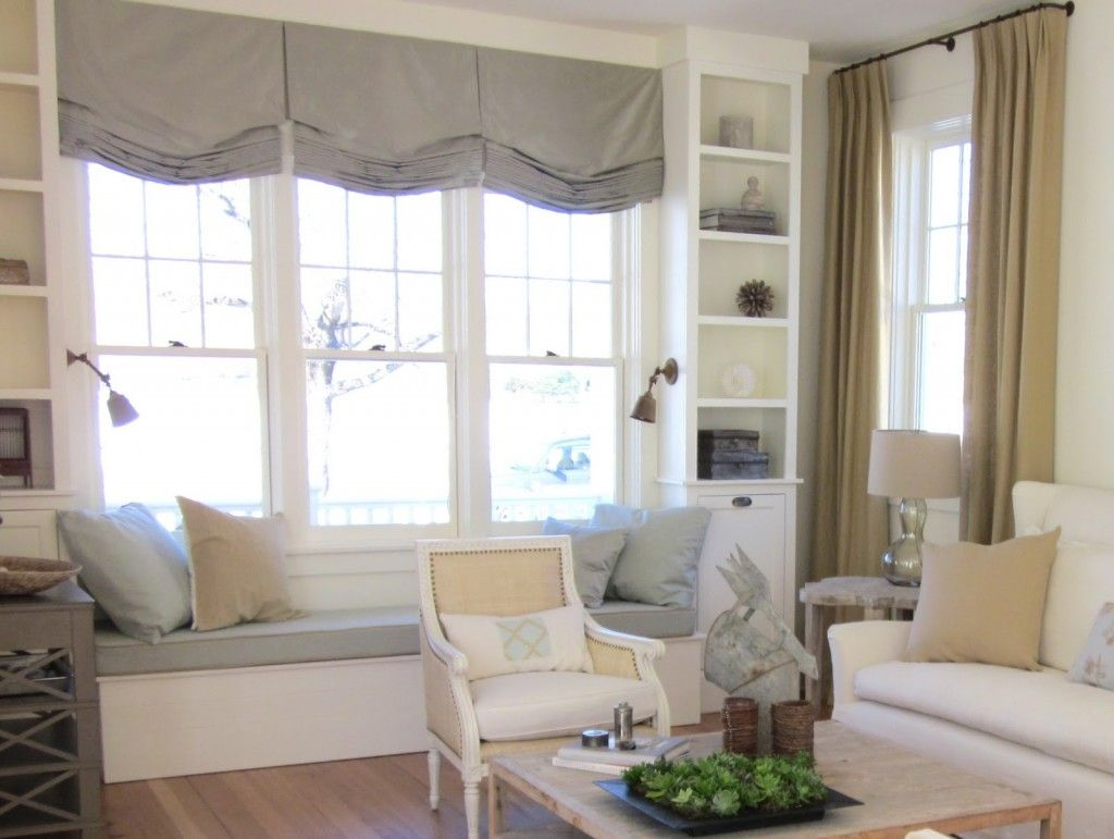 Bay window with window seat treatments - Minimalist Window Seat A Simple Element With Grand Value