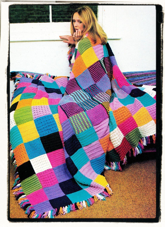 #Aran #beginners #blanket #Download #Easy #Instant # ...