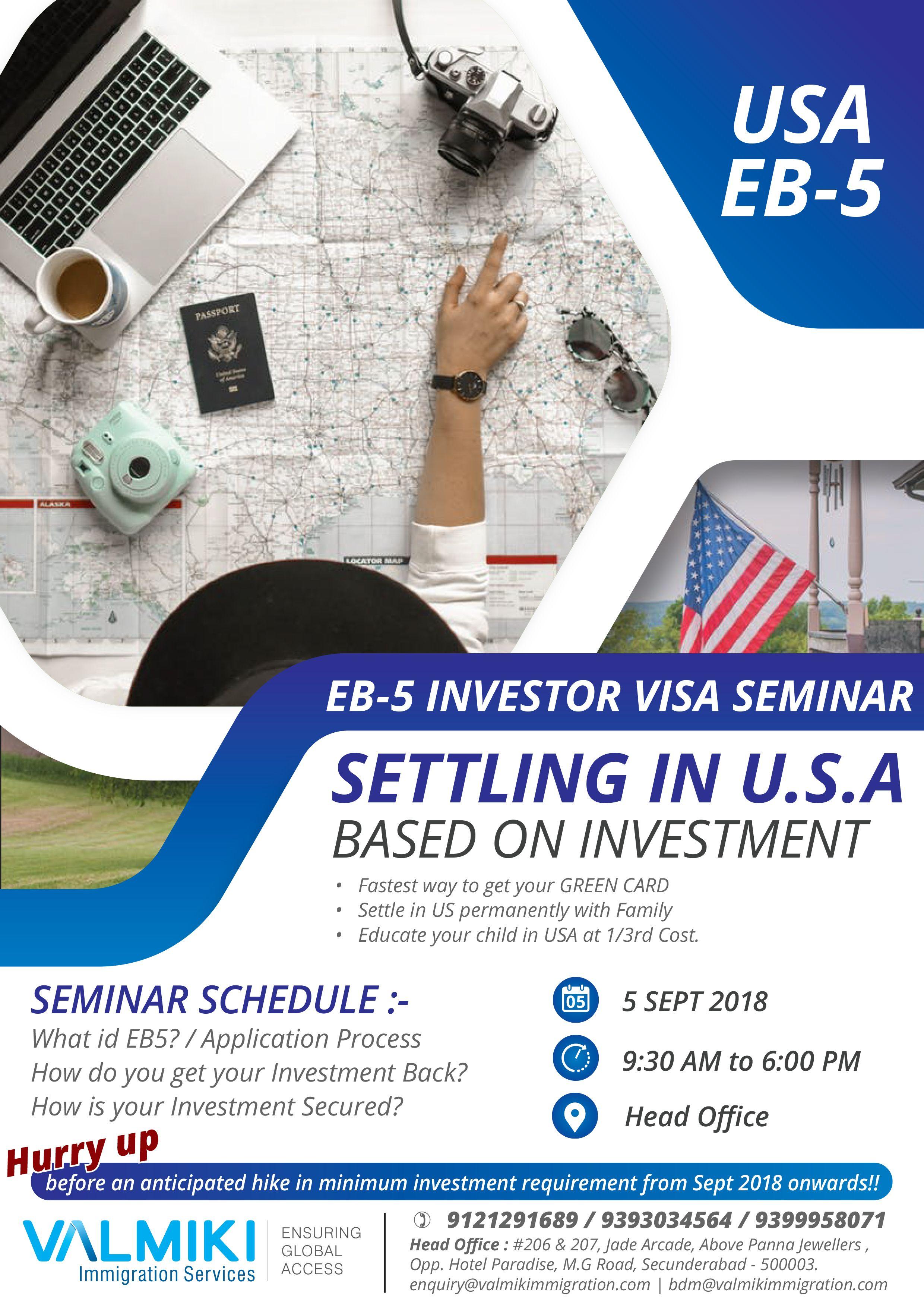 Usa eb5 investor visa seminar 1 100 approval rating 2