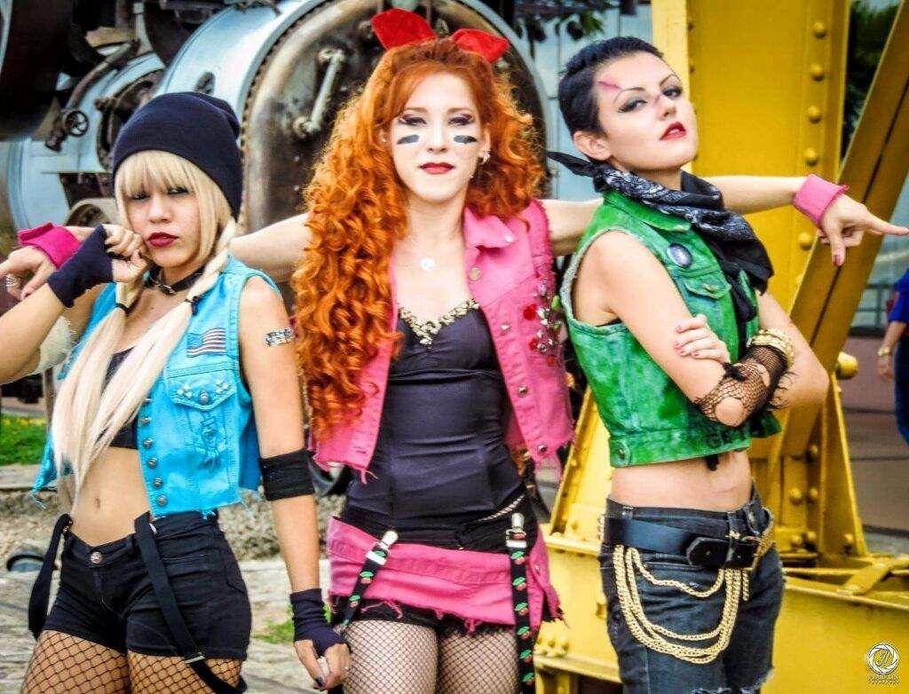 Image Result For Powerpunk Girls Cosplay Powerpuff Girls