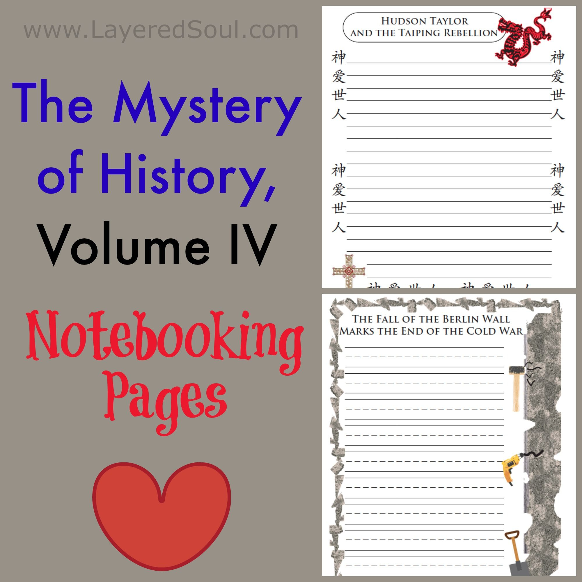 The Mystery Of History Volume 4