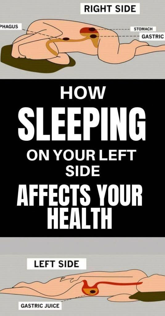 How Sleeping On Your Left Side Affects Your Health #health #food #healthyfood #homeremedies #keto