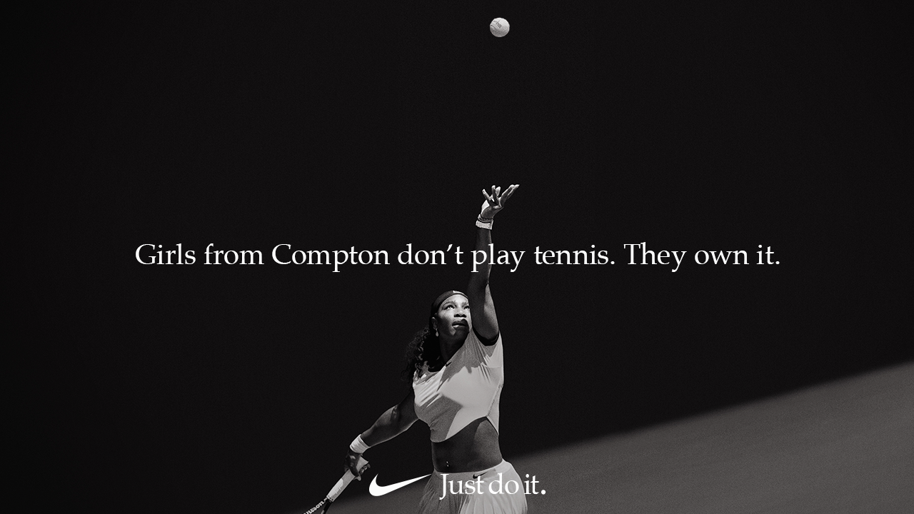 Nike's New Just Do It Campaign Nike ad, Just do it