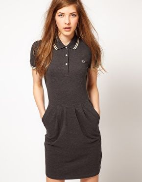 Fred perry polo kleid