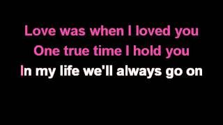 Download Céline Dion My Heart Will Go On Karaoke mp3 (MP3 ID