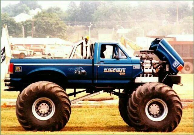 Bigfoot 4 1988 Rich Hoosier Monster Trucks Bigfoot Trucks