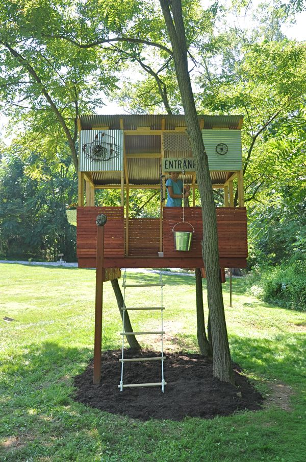 Want to Make a Treehouse | Pinterest | Tree houses, Treehouse and House