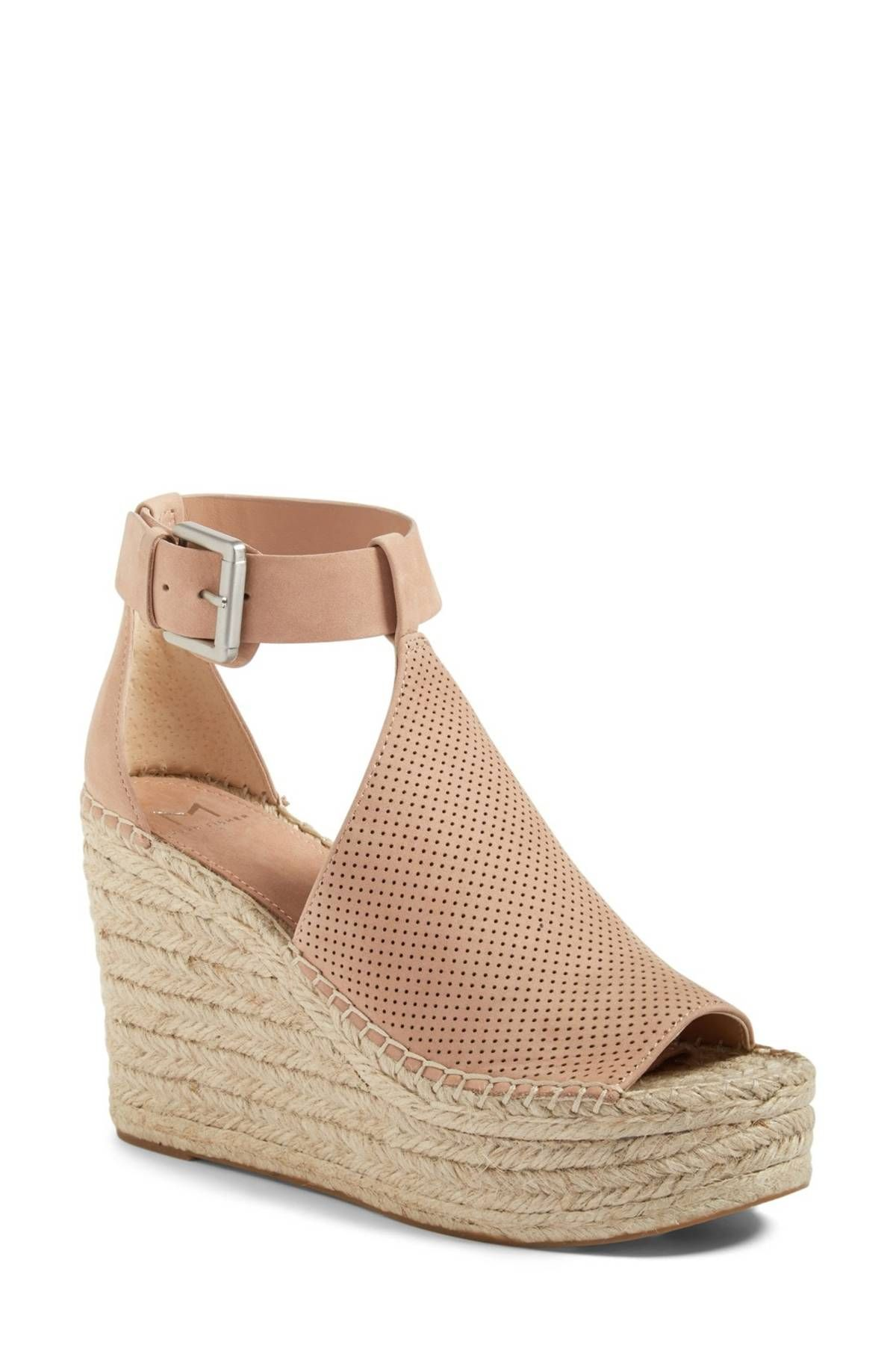 1d310d5f75 Image of Marc Fisher LTD Annie Perforated Espadrille Platform Wedge (Women)