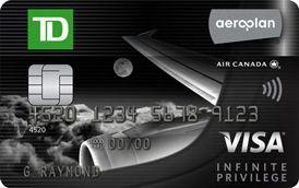 TD Aeroplan Privilege Visa Credit Card Review - GreedyRates