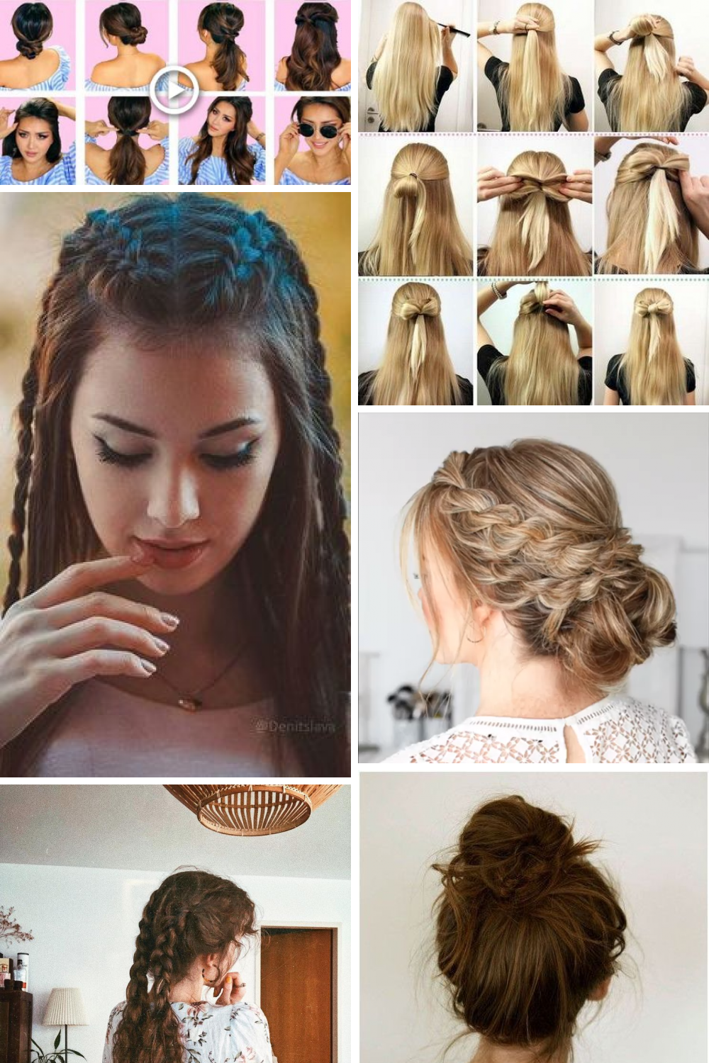 28 Cute Everyday Hairstyle Ideas For You Hair Styles Cute Everyday Hairstyles Everyday Hairstyles