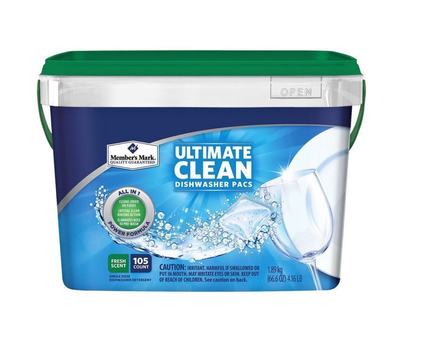 New Ultimate Clean Formula Automatic Dishwasher Soap Detergent