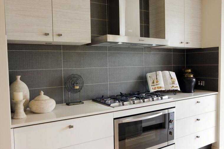 cr dence cuisine plus de 50 id es pour un int rieur contemporain ou moderne cr dence. Black Bedroom Furniture Sets. Home Design Ideas