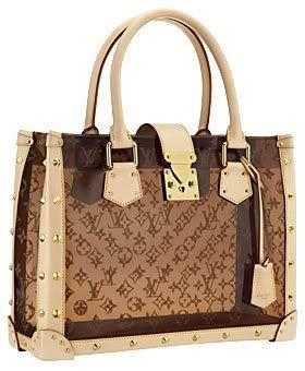 f2b49f5422ae Louis Vuitton Transparent Handbags