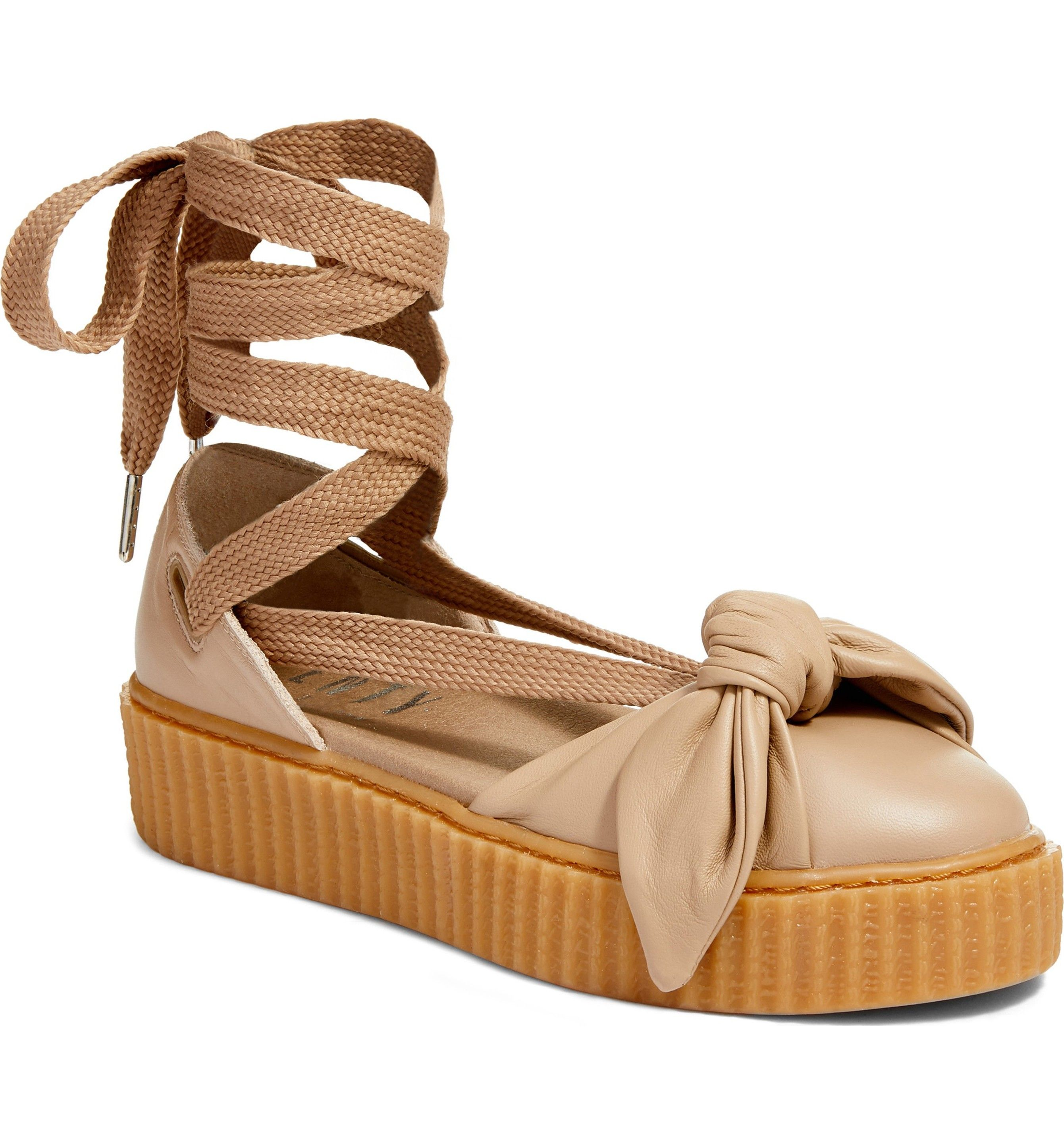 the latest b937d dfdd3 Main Image - FENTY PUMA by Rihanna Bow Creeper Sandal (Women ...