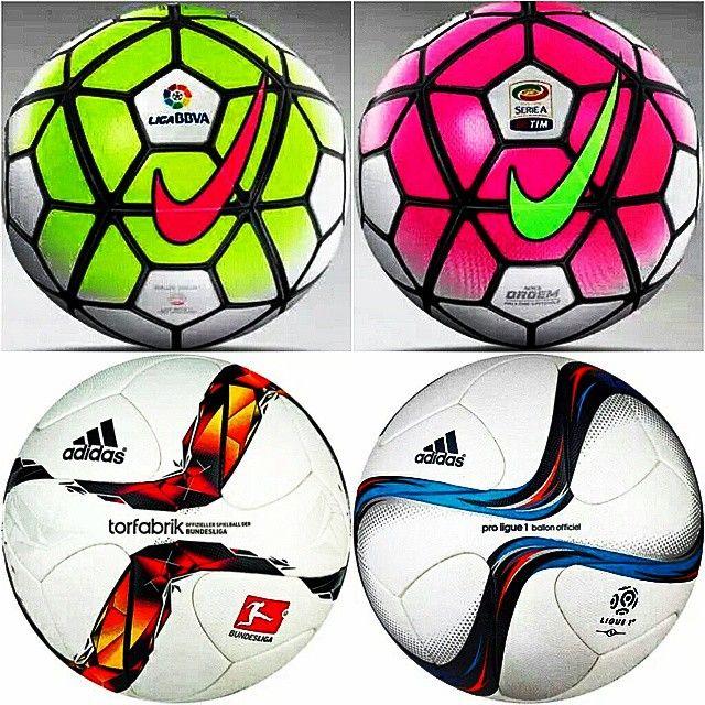 614697417b1ed Futbol de Locura  ¿Qué tal los nuevos balones para la temporada próxima