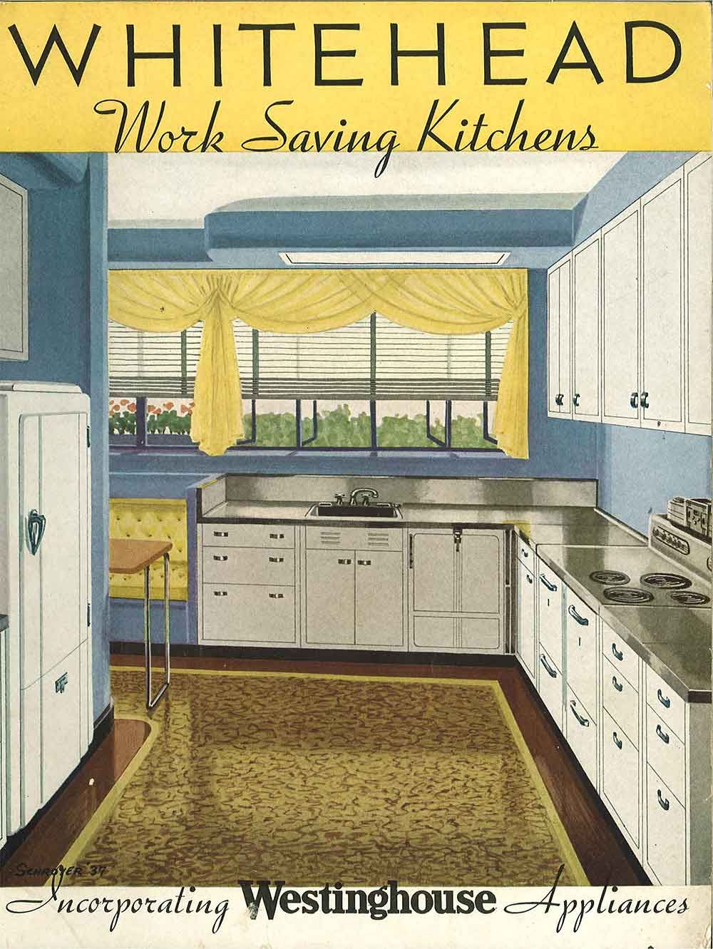 Whitehead Steel Kitchen Cabinets 20 Page Catalog From 1937 Steel Kitchen Cabinets Vintage Kitchen Cabinets Vintage Kitchen Cabinets 1950s