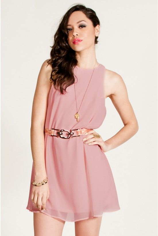 Making Me Blush Shift Dress