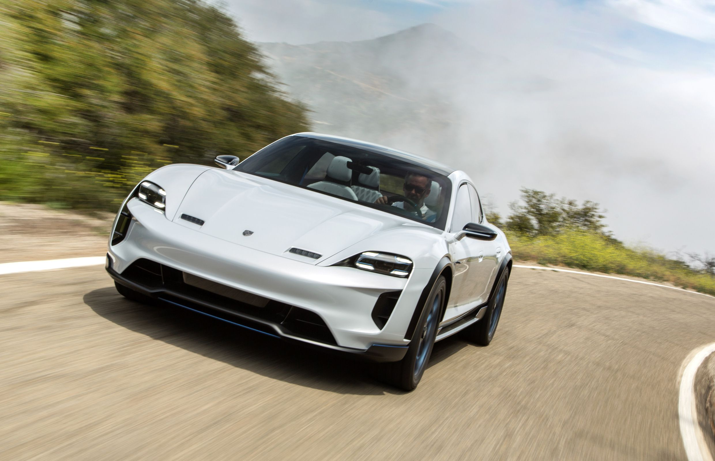 first drive porsche mission e cross turismo concept driving ca rh pinterest com