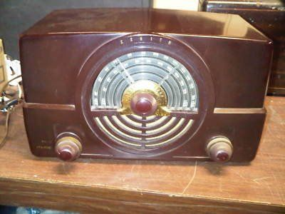1950s Zenith AM/FM Tube Radio -- Every Saturday night I remember listening to the Grand Old Opry on WSM, Nashville.  It was a family ritual :)