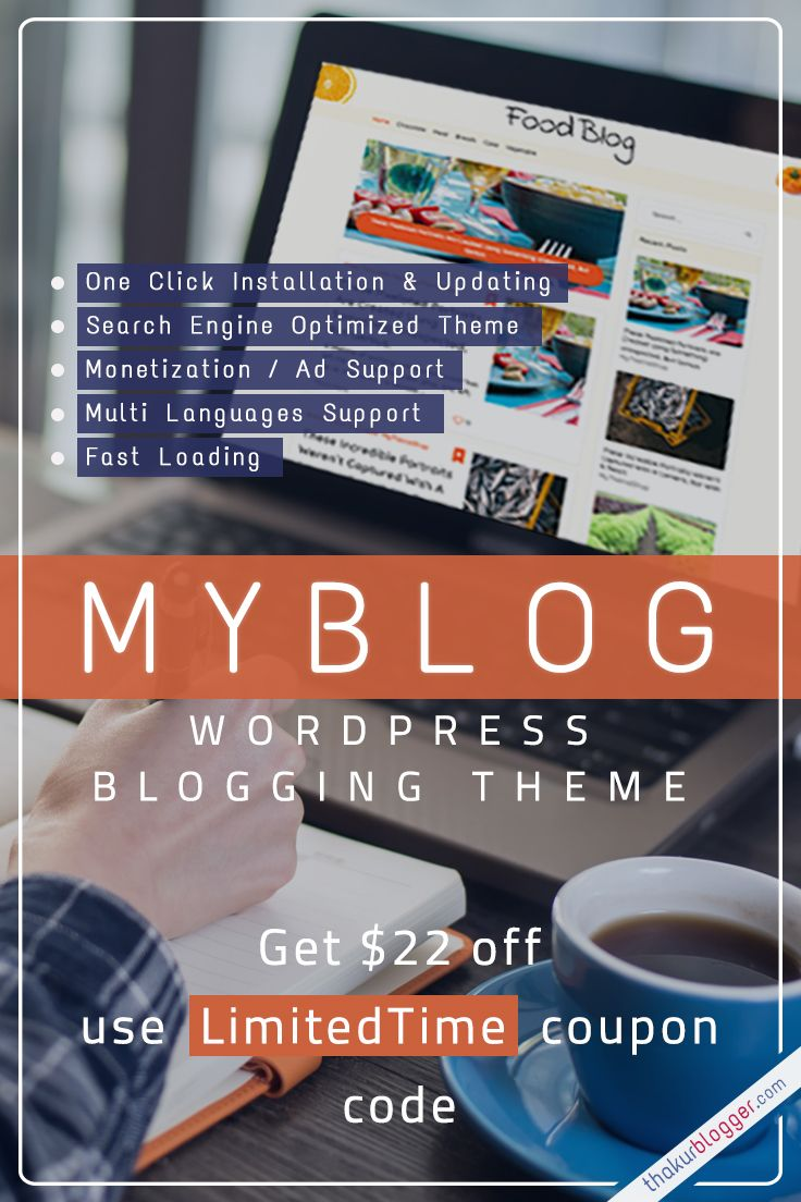 Myblog theme review best wordpress blog template get 22 off myblog theme review best wordpress blog template get 22 off use limitedtime pronofoot35fo Gallery